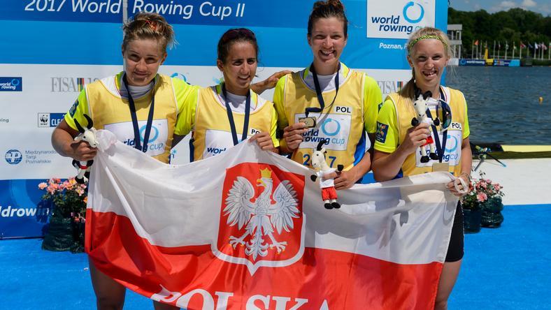 Agnieszka Kobus, Marta Wieliczko, Maria Springwald i Katarzyna Zillmann