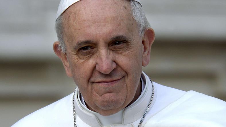 Papież Franciszek, fot. AFP