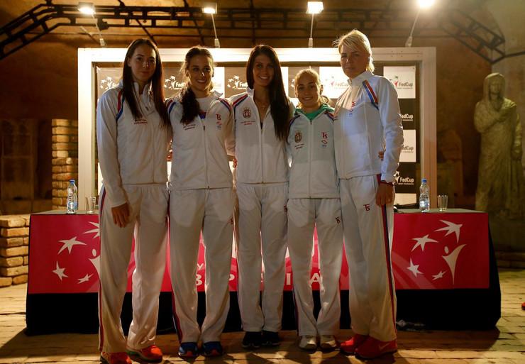 Ženska teniska reprezentacija Srbije
