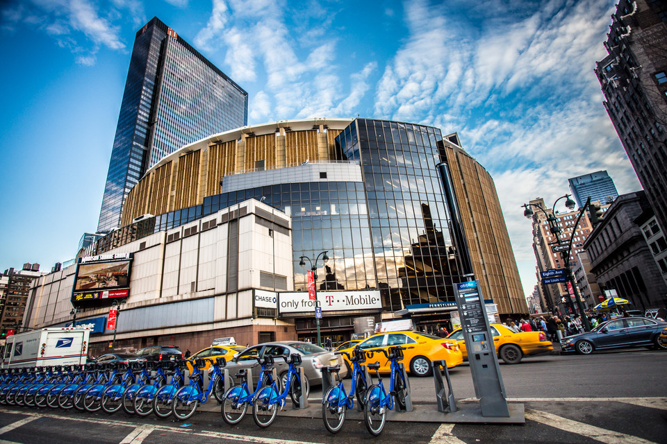 13. Hala Madison Square Garden, Nowy Jork