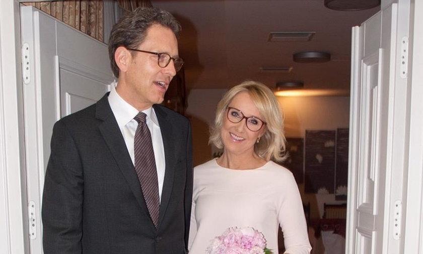 Agata Młynarska z mężem Przemysławem Schmidtem