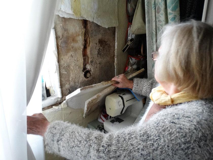 Mieszkańcy Miedzianej 3 żyją bez prądu