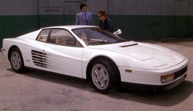 Ferrari Testarossa z Miami Vice