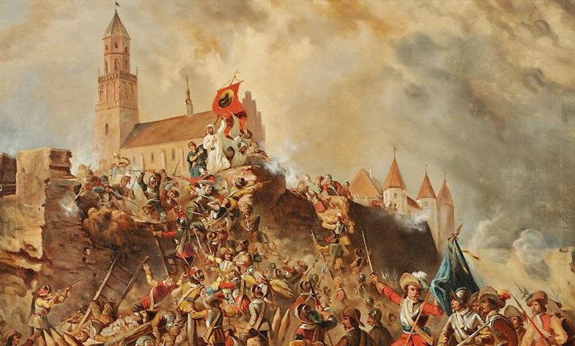 Obrona Jasnej Góry. Szwedzi skarbami z klasztoru chcieli zapłacić zaległy żołd żołnierzom.