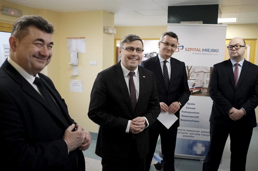 Przekazanie sprzętu za 1,2 mln zł rudzkiej neonatologii