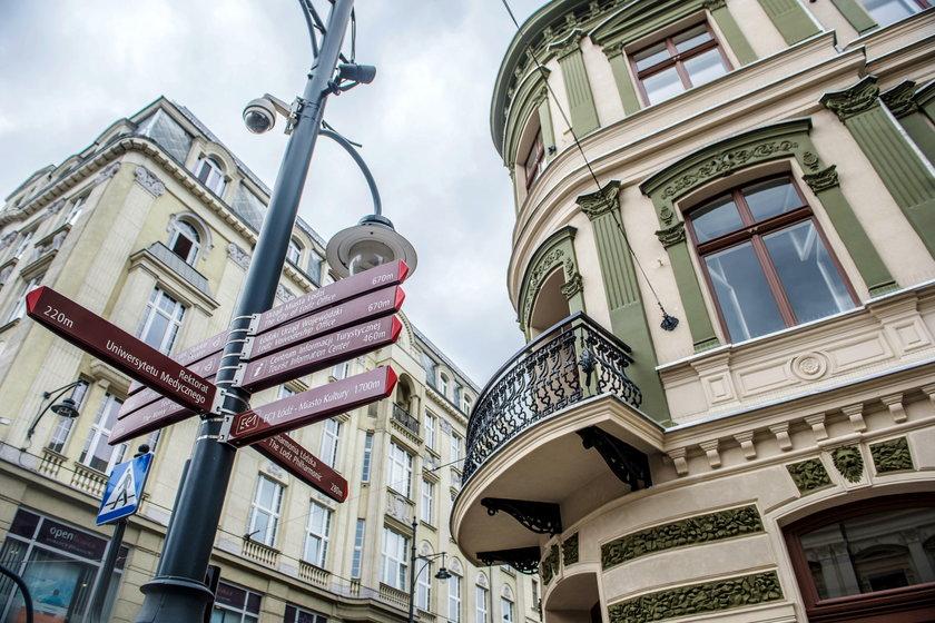 Kamienica na rogu Piotrkowskiej i Narutowicza wypiękniała