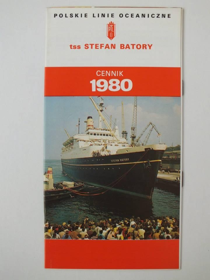 Cennik ze Stefana Batorego na trasie Gdynia-Montreal