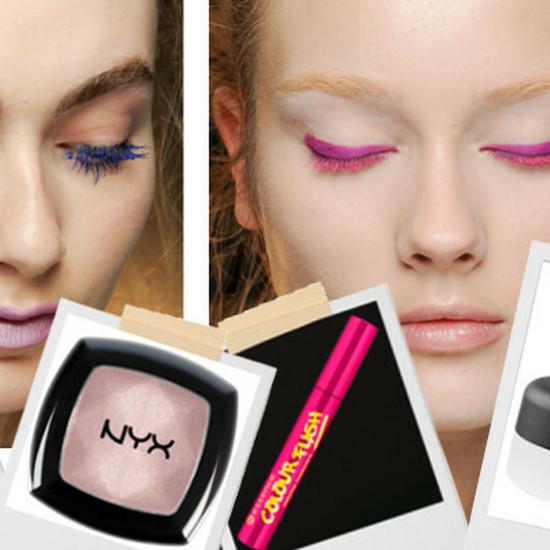 Letni Makijaż Kolorowe Tusze Do Rzęs Cienie Do Powiek Jak