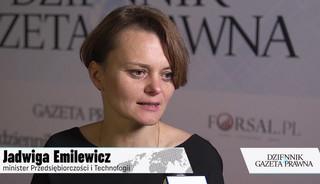 Emilewicz: Zapóźnienie Polski może działać na jej korzyść