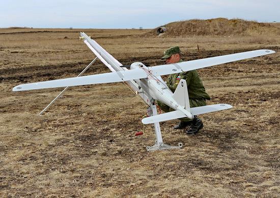 Dron zwiadowczy Orlan