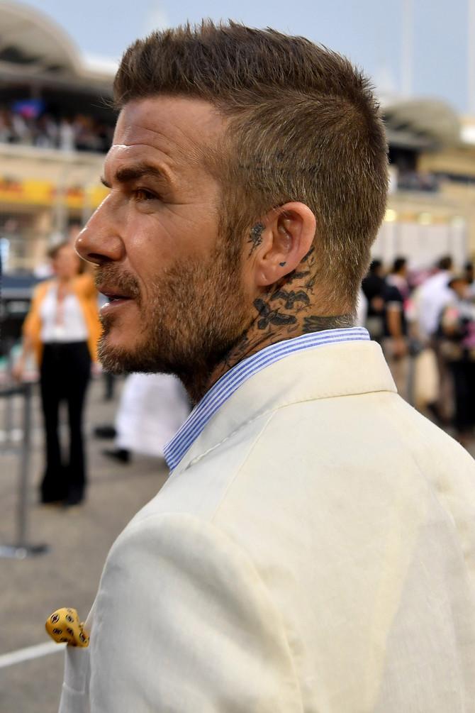 Tetovaža u prvom planu