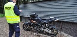 Śmierć niepełnosprawnego motocyklisty. Nie miał rąk