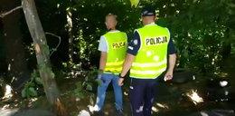 Policjanci zajrzeli do lasu, a tam... To nie mieści się w głowie!