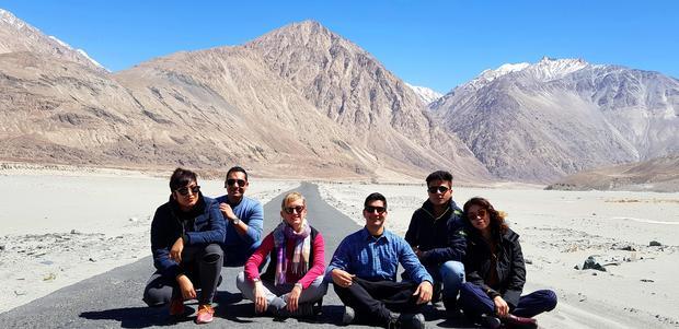 Natalia Tyczyńska i przyjaciele na wypadzie do Ladakh