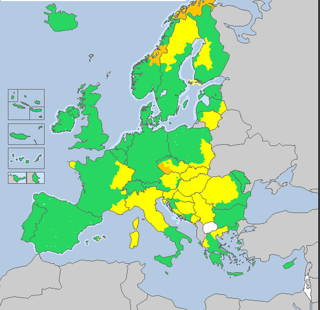 Situacija nije bolja ni u Evropi