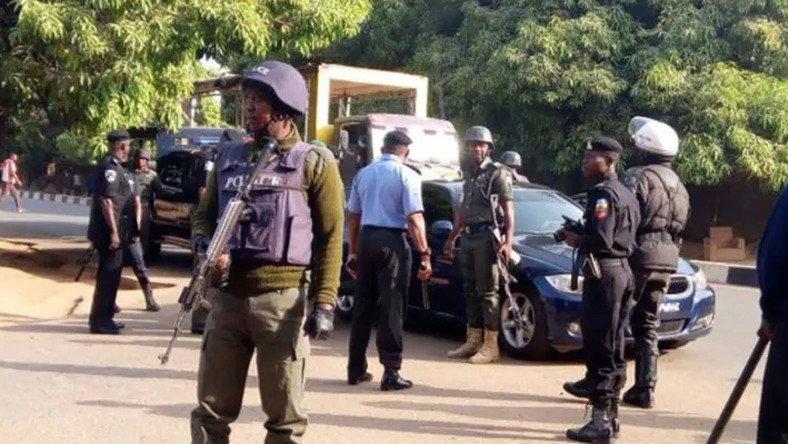 Image result for Policemen serving with Lagos Police Command