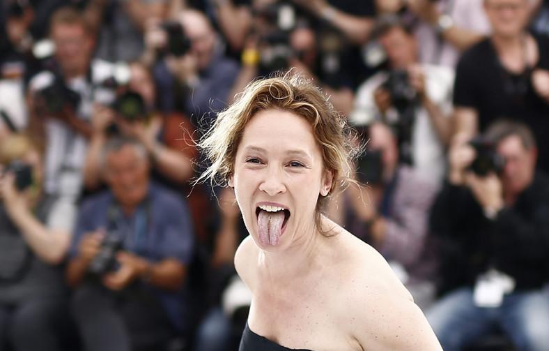 Emmanuelle Bercot na festiwalu w Cannes