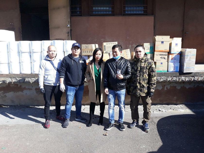 Wietnamka Lily Tran pomaga szpitalowi w Łodzi