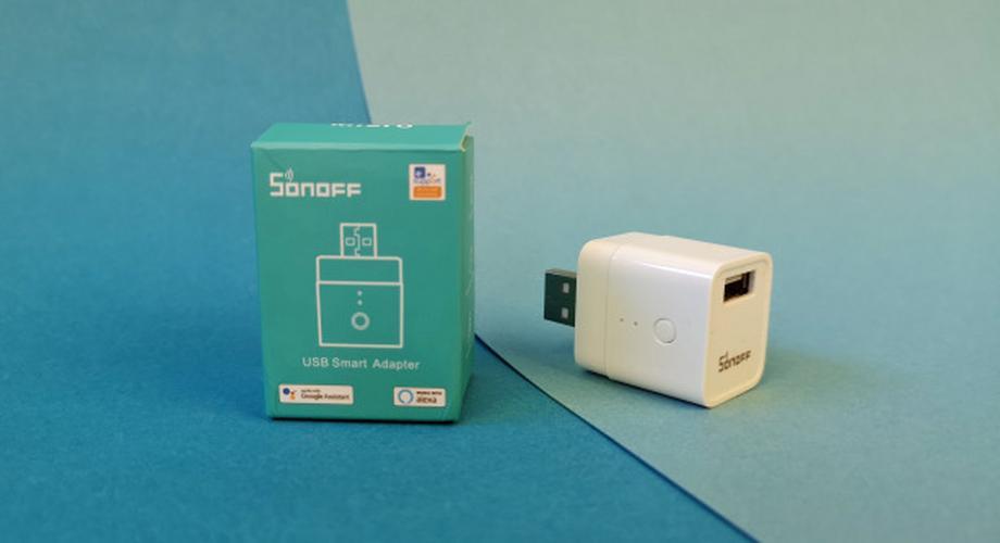 Smarter USB-Adapter mit WLAN von Sonoff im Test
