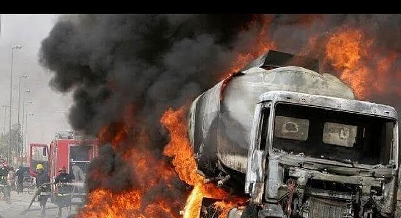 Tanker explosion (Premium Times)
