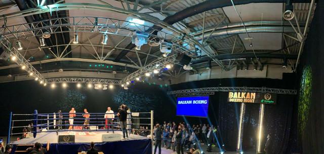 Balkan boxing night