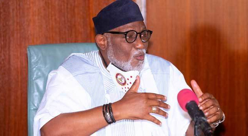 Akeredolu: 'I didn't order police to stop my deputy from leaving Government House'