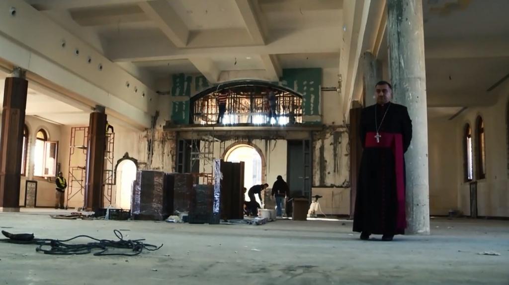 """Onet. Reportaż: Uciec przed ludobójstwem. Wewnątrz chrześcijańskiego plutonu pod Mosulem"""""""