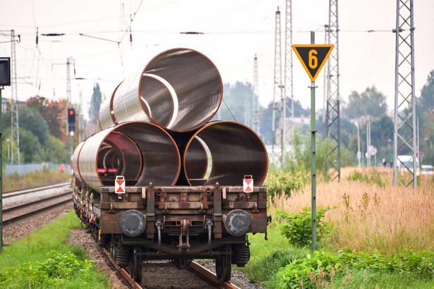 Rury do przesyłu gazu Nord Stream 2