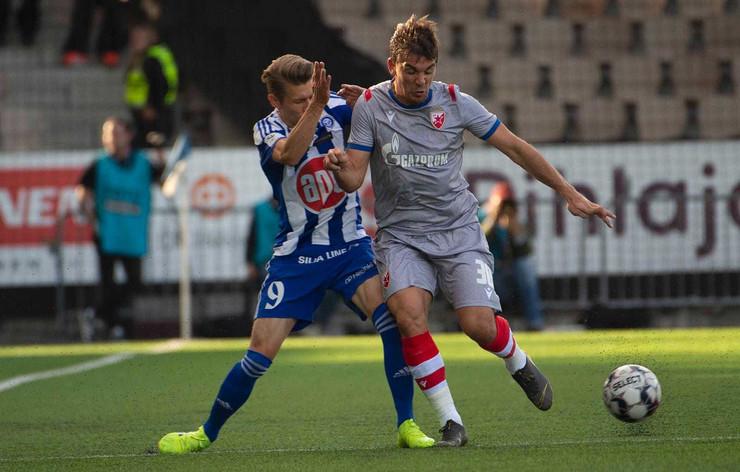 FK Crvena zvezda, FK Helsinki, Filip Stojković