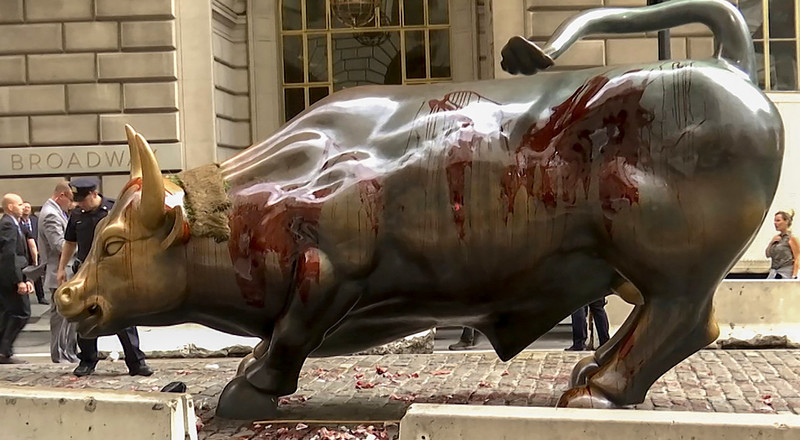 Wall Street's 'Charging Bull' statue will be relocated after drawing protests for years