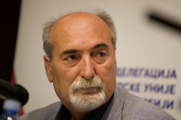 Milan Ćulibrk, glavni i odgovorni urednik nedeljnika