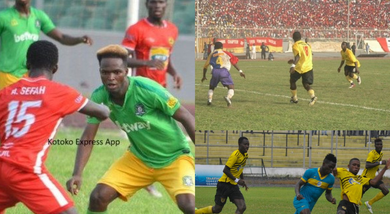 Superstition: 3 times Ghana Premier League clubs started a game with ten players each