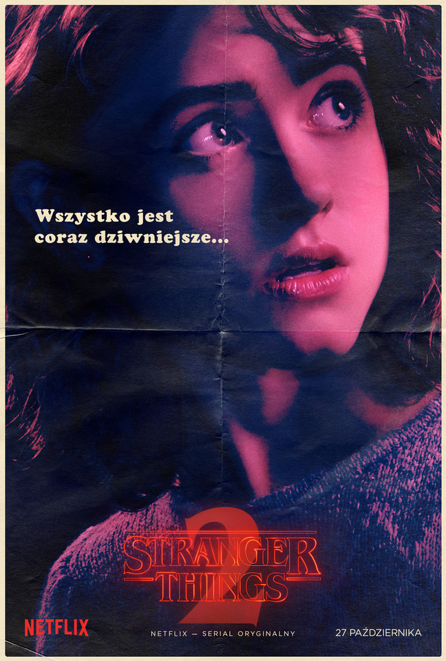 """Stranger Things 2"": plakat"