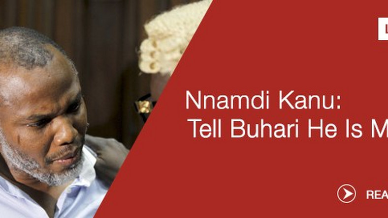 "Nnamdi Kanu ""Tell Buhari he is mad,"" IPOB leader says [VIDEO"