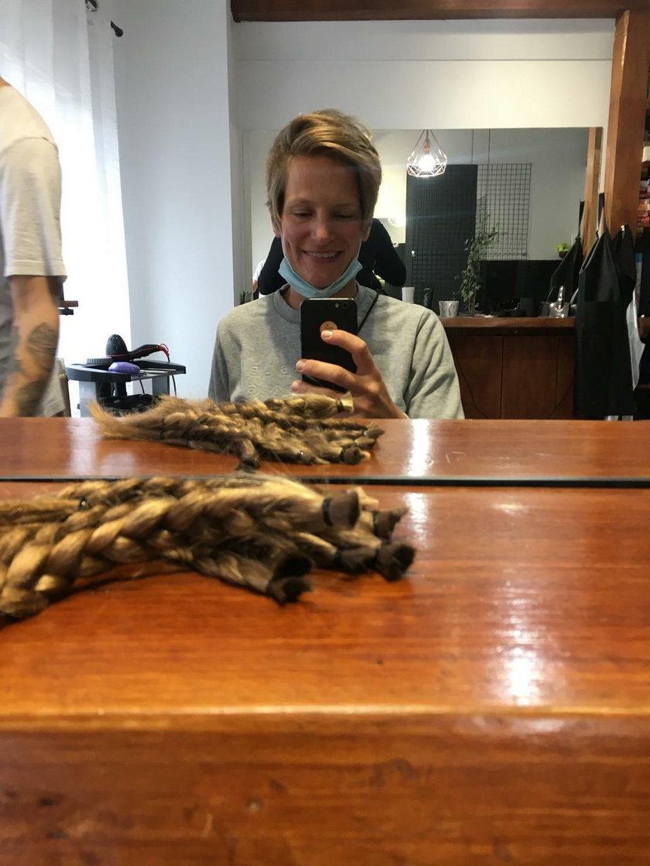 Wioślarka Julia Michalska ścięła włosy na peruki dla chorych na raka