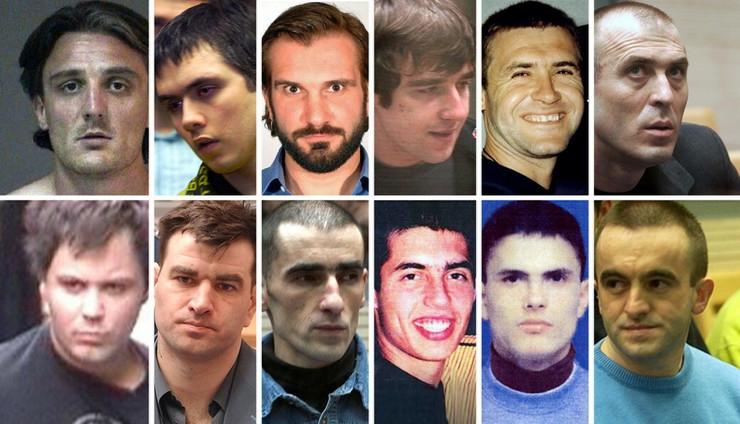 osuđeni za ubistvo premijera kombo pokrivalica foto RAS Srbija