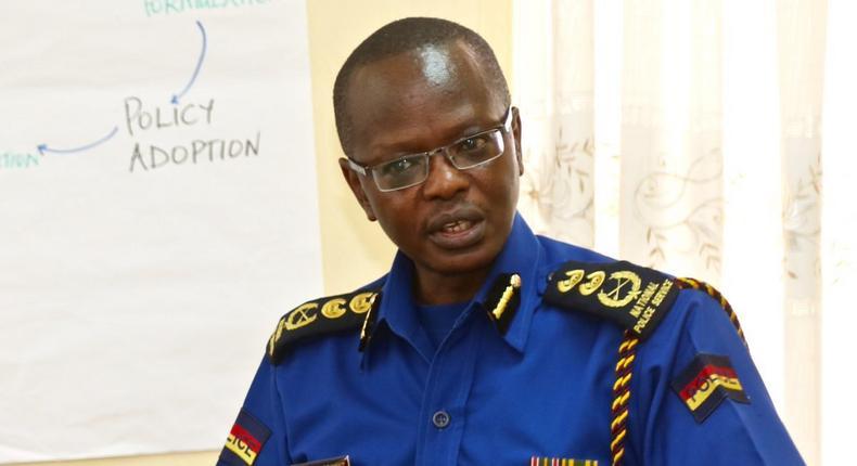 Outgoing Inspector General of Police Joseph Boinnet (Twitter)