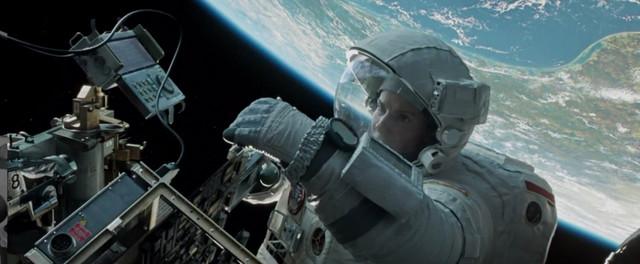 """ode u svemir u filmu """"Gravity"""""""