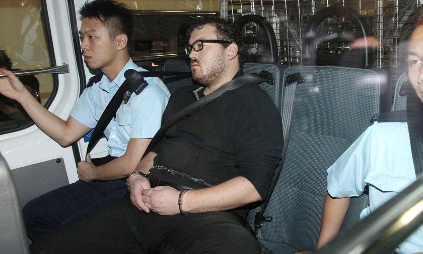 HONG KONG Rurik Jutting morderca prostytutek