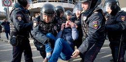 Protesty w Rosji przeciw korupcji. Setki zatrzymanych. Nawalny stanie przed sądem!