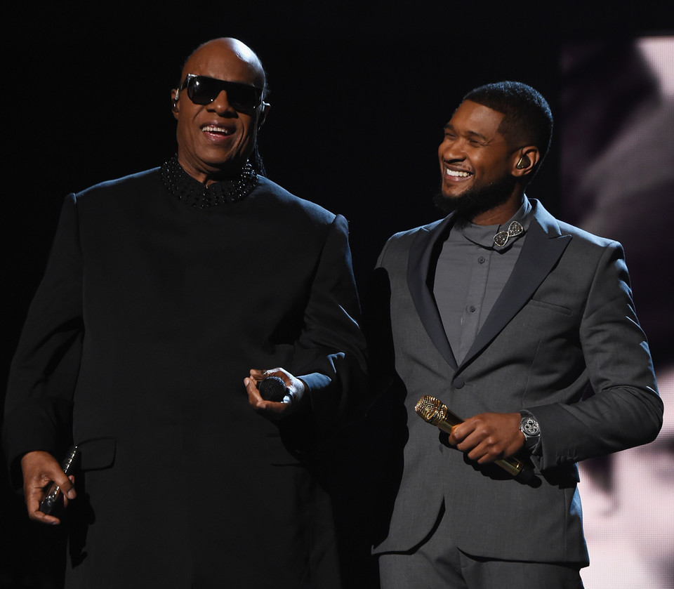 Stevie Wonder i Usher na Grammy 2015