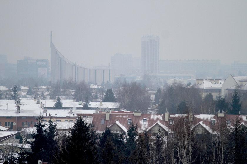 Smog nad Rzeszowem