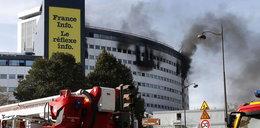 Płonie siedziba radia w stolicy
