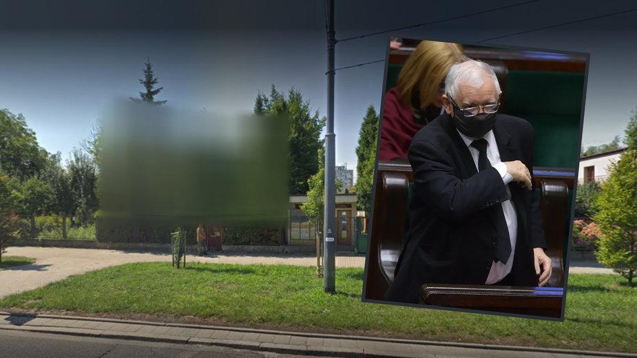 Dom Jarosława Kaczyńskiego został ukryty na mapach Google