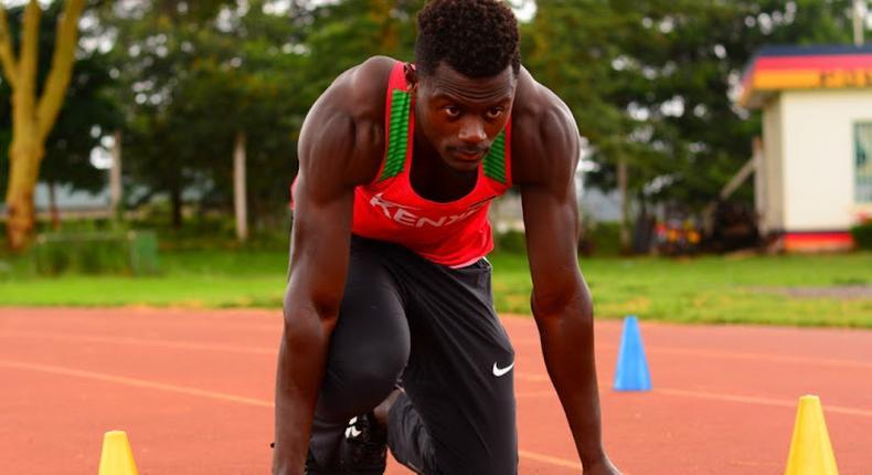 Mark Otieno Odhiambo of Kenya (Photo by Cameron Spencer/Getty Images)