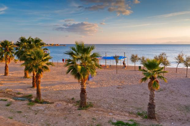 Plaża, Paleo Faliro