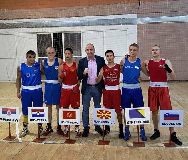Mladi bokseri iz Srbije, Bosne i Hercegovine, Makedonije i Crne Gore su regionu poslali jaku poruku
