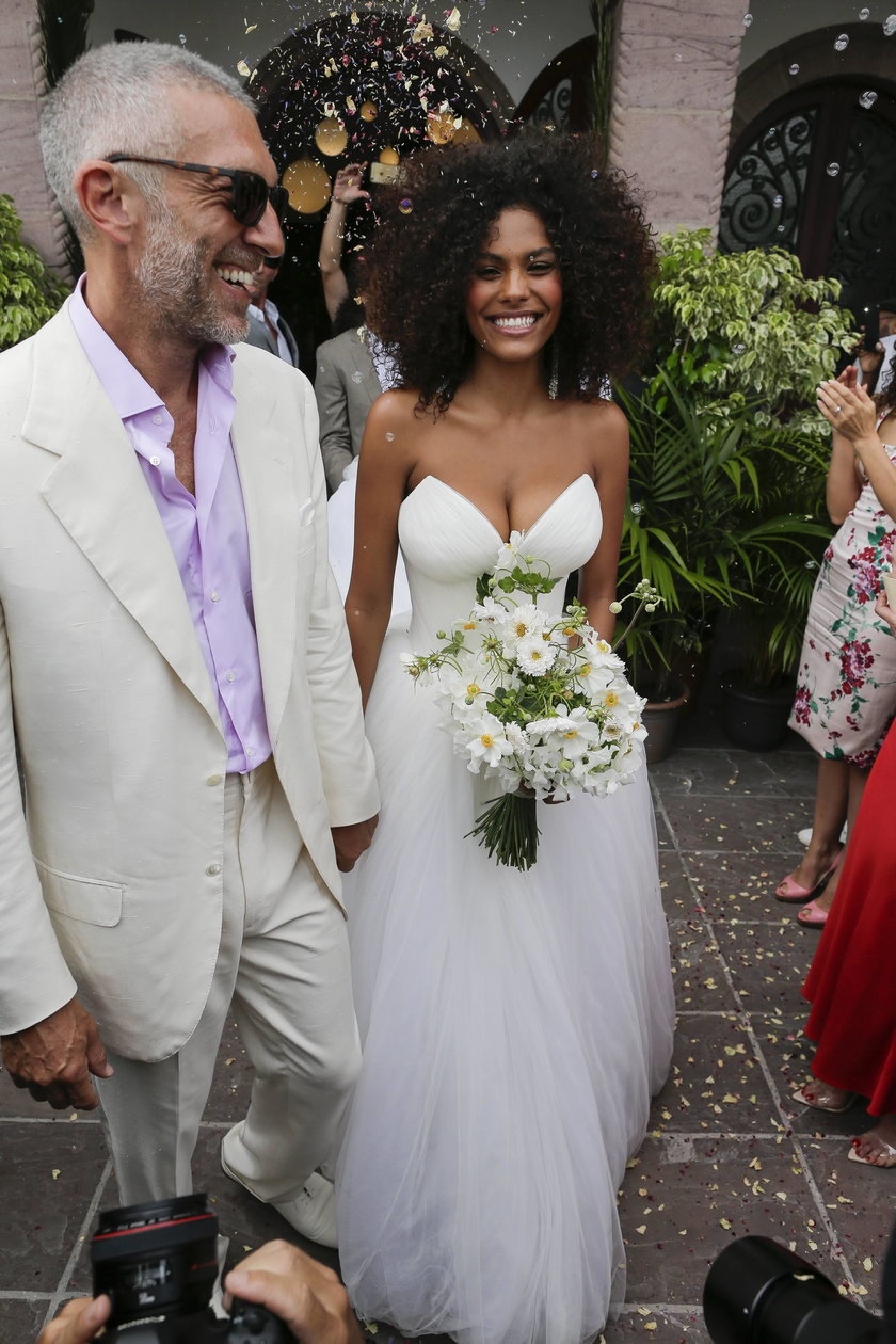Vincent Cassel i Tina Kunakey