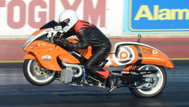 Suzuki Hayabusa turbo Drag Bike