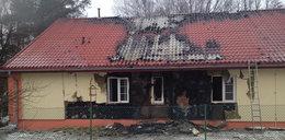 Cztery osoby zginęły w pożarze domu pomocy społecznej FILM